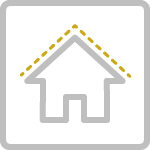 Roofing Shingles Icon