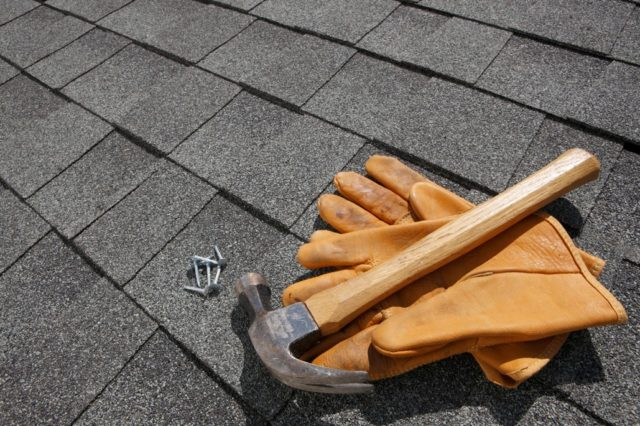 Residential Roofing Feature