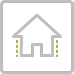 Residential Siding Icon